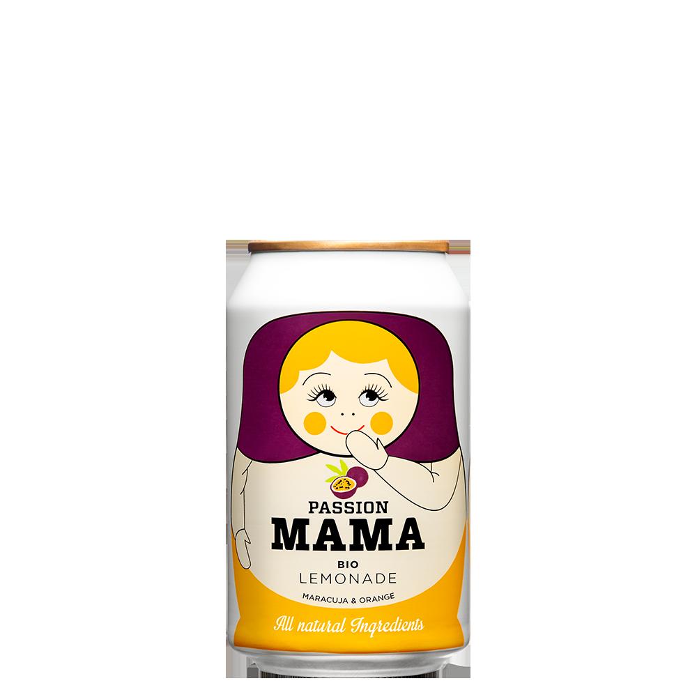 瑪瑪百香果氣泡飲