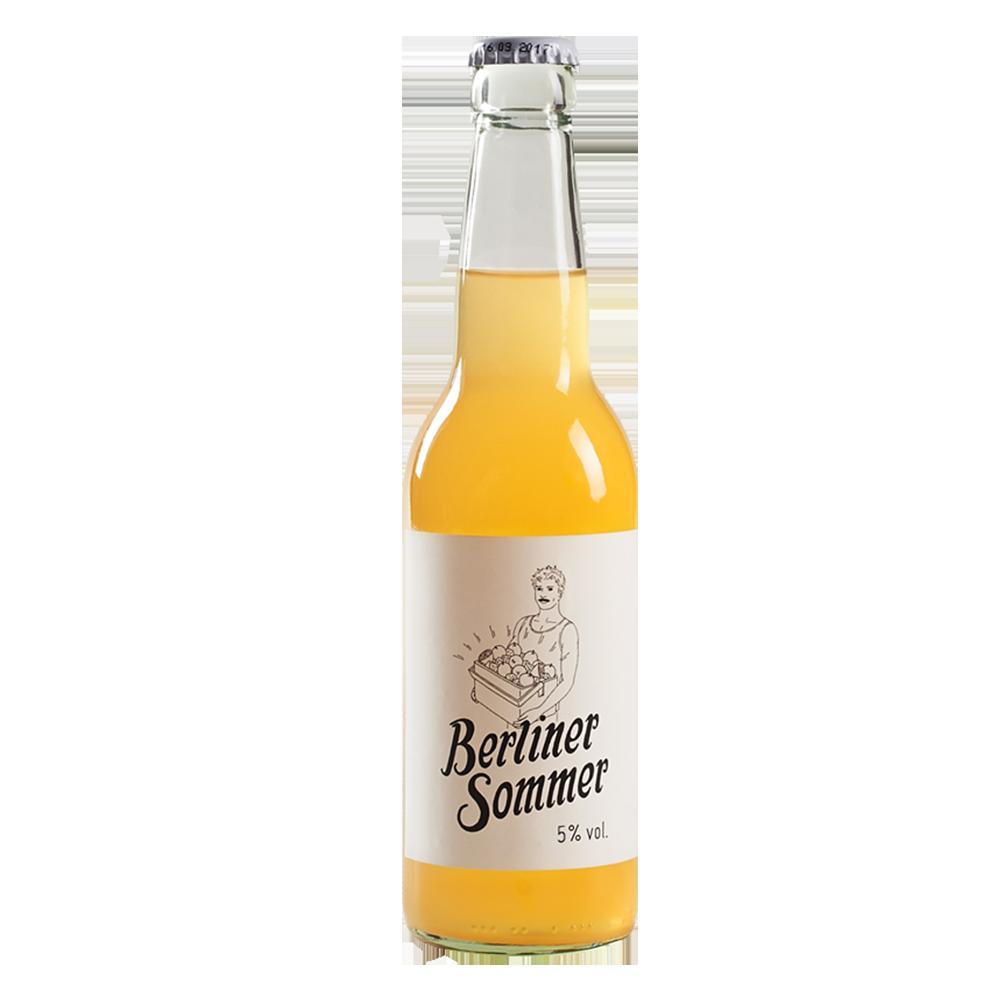 柏林人黃色夏天水果酒