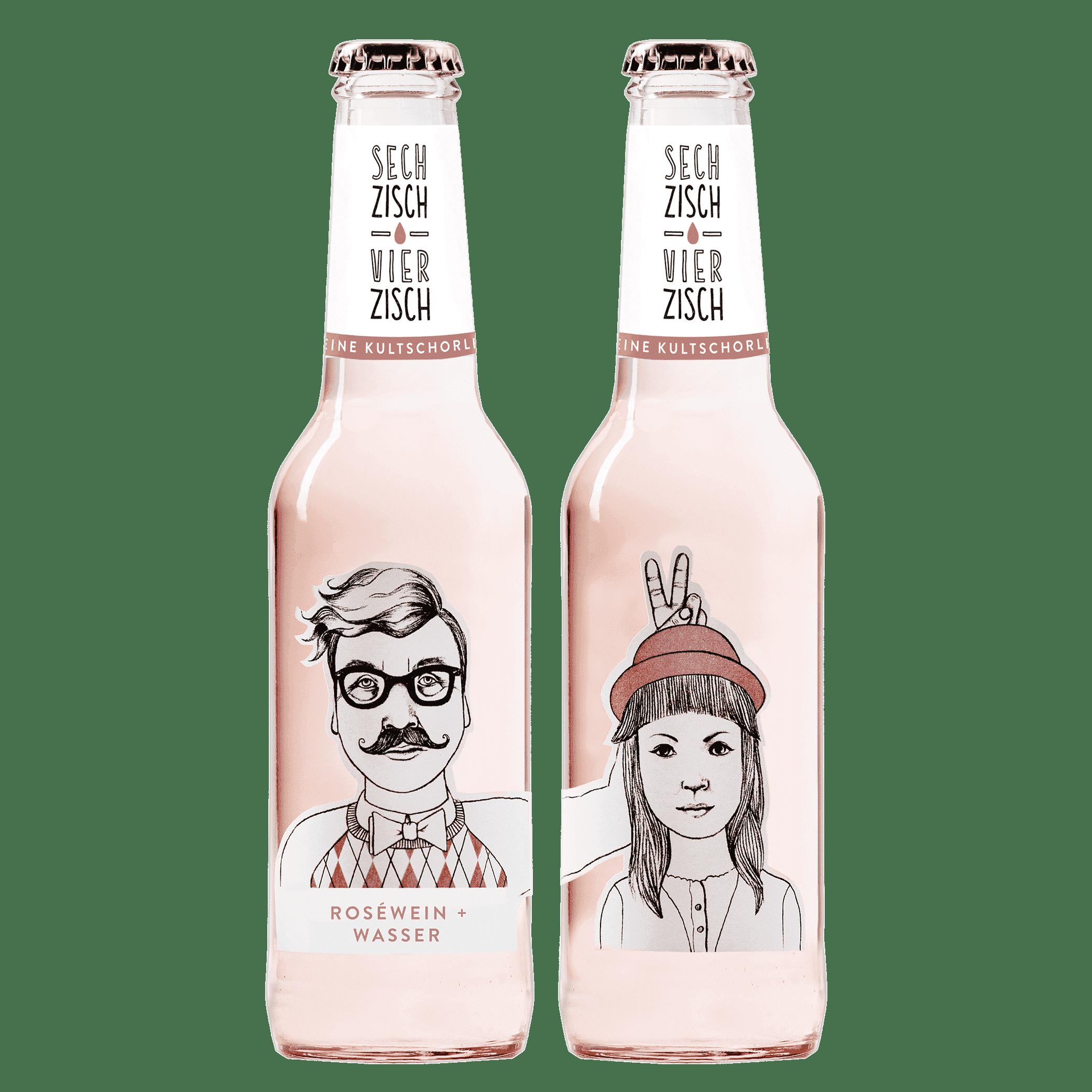 六十四十粉紅氣泡酒