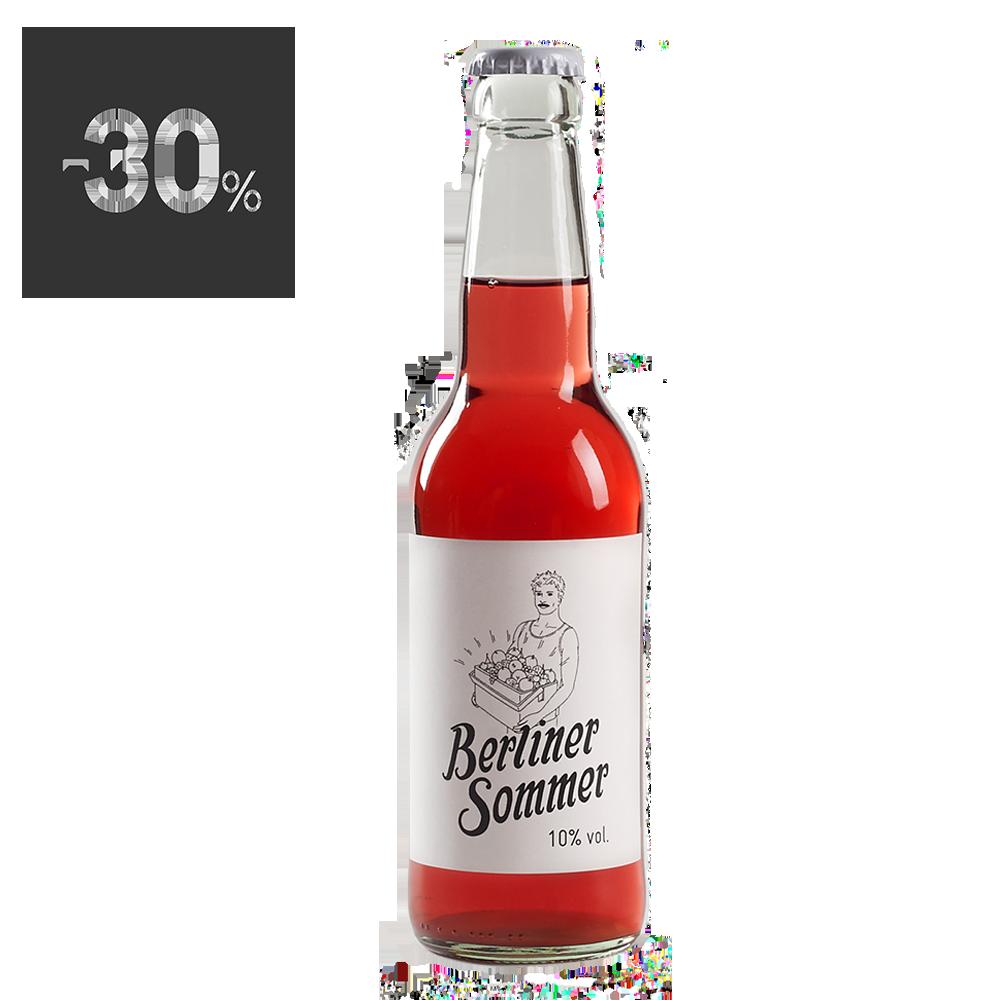 柏林人紅色夏天水果酒